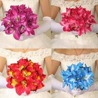 Seidenspinnerei Hand Blumenstrauß, Hochzeitsgeschenk, keine, 250x200mm, verkauft von PC