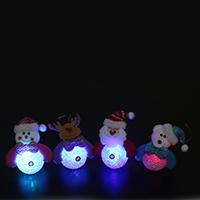 Weihnachtsangebot, EVA, mit Plüsch & Metallische Schnur & Kunststoff, Weihnachtsschmuck & verschiedene Stile für Wahl & LED, 100x170mm, verkauft von PC