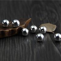 925 Sterling Silber Perlen, rund, 3mm, Bohrung:ca. 1.1mm, 100PCs/Menge, verkauft von Menge