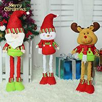 Nichtgewebte Stoffe mit Plüsch, abklappbar & Weihnachtsschmuck & verschiedene Stile für Wahl, 155x460mm, 155x640mm, verkauft von PC