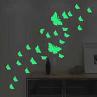Dekorative Sticker Mode, PVC Kunststoff, Schmetterling, Klebstoff & glänzend, 210x290mm, verkauft von PC