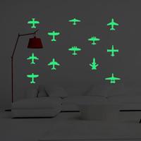 Dekorative Sticker Mode, PVC Kunststoff, Flugzeug, Klebstoff & glänzend, 210x290mm, verkauft von PC