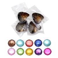 Süßwasser kultivierte Liebe wünschen Perlenaustern, Natürliche kultivierte Süßwasserperlen, Knopf, keine, 10-11mm, verkauft von PC