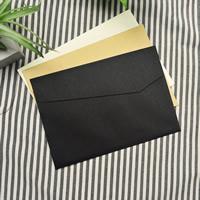 Kraftpapier Umschlag, Rechteck, gemischte Farben, 162x114mm, 30PCs/Tasche, verkauft von Tasche