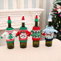 Wolle Bekleidung, Weihnachtsschmuck & verschiedene Muster für Wahl, 110x160mm,50x100mm, 4PCs/Menge, verkauft von Menge