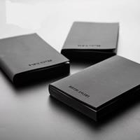 Notizbuch, PU Leder, mit Papier, Rechteck, verschiedene Größen vorhanden & verschiedene Stile für Wahl, verkauft von PC
