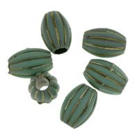 European Acrylperlen, Acryl, 11x16x11mm, Bohrung:ca. 5mm, ca. 540PCs/Tasche, verkauft von Tasche