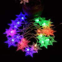 Kunststoff LED-Streifen, Schneeflocke, Weihnachtsschmuck, keine, 2100mm, verkauft von Strang