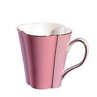 Porzellan Teetasse, mit Kunststoff & Edelstahl, goldfarben plattiert, 84x89mm, verkauft von PC