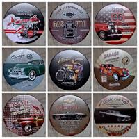 Zinn-Malerei, Eisen, flache Runde, verschiedene Muster für Wahl, keine, 300mm, verkauft von PC