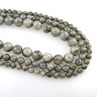 Labradorit Perlen, rund, verschiedene Größen vorhanden & facettierte, Bohrung:ca. 1mm, verkauft per ca. 15.5 ZollInch Strang
