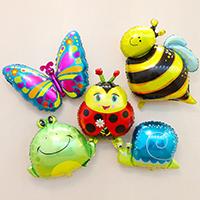 Ballone, Alufolie, Tier, verschiedene Stile für Wahl, verkauft von PC