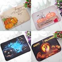 Polyester Rechteck, Halloween Schmuck & verschiedene Größen vorhanden & verschiedene Muster für Wahl & mit Brief Muster, verkauft von PC