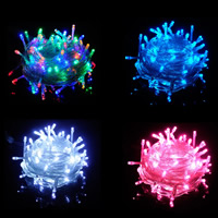 LED Globe und Sternenhimmel Lichterketten Dekorative Draht Lichter Strings Lichter, PVC Kunststoff, Weihnachtsschmuck, keine, verkauft per ca. 10 m Strang