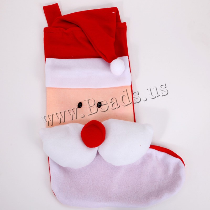 Buy Christmas Gift Bag Velveteen Christmas Sock Christmas jewelry & different styles choice 320x490mm Sold PC