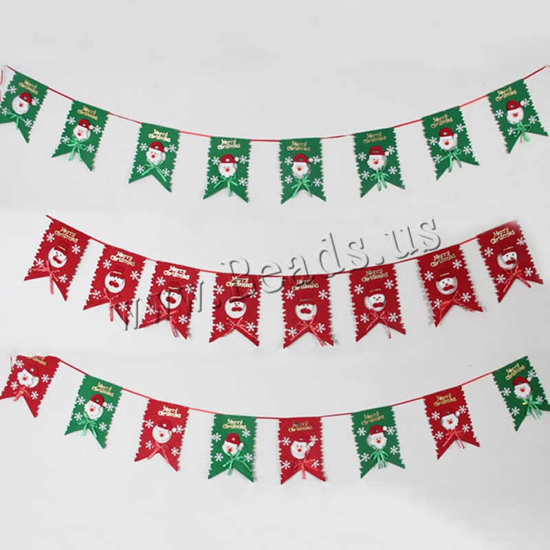 Buy Christmas Decoration Non-woven Fabrics Christmas jewelry & different styles choice 200x300mm Sold Per 2-2.2 m Strand