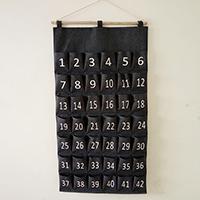 Lager Angebote, Baumwollgewebe, mit Hanfgarn & Holz, mehrschichtig & mit einem Muster von Nummer & wasserdicht, 60x1140mm, verkauft von PC