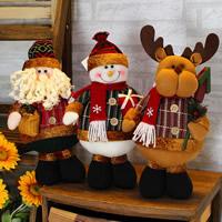 Baumwollsamt Weihnachtsschmuck & verschiedene Stile für Wahl, 180x350mm, verkauft von PC