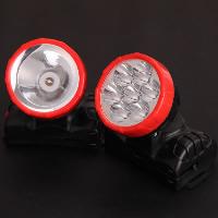 Tragbare Taschenlampe, Kunststoff, mit Nylon, verschiedene Stile für Wahl & LED, 110x100x75mm, 70mm, verkauft von PC