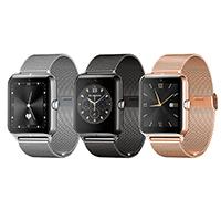 TROZUM® Smart Watch , Edelstahl, mit Glas, plattiert, monatóireacht a dhéanamh ar codlata & pedometer 3D & unisex & Touch-screen, keine, 47x40.60x11.80mm, Länge:ca. 9.4 ZollInch, verkauft von PC