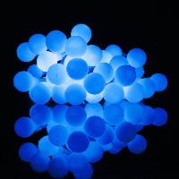 Kunststoff LED Lampe Licht, satiniert, keine, 15mm, verkauft per ca. 2.2 m Strang