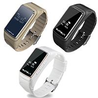 TROZUM® Smart Watch , Kunststoff, mit Glas & Edelstahl, plattiert, Herzfrequenzmessung & monatóireacht a dhéanamh ar codlata & pedometer 3D & Touch-screen, keine, 20.60x11.90mm, Länge:ca. 9.5 ZollInch, verkauft von PC