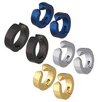 Moderne Ohr Manschette, Edelstahl, plattiert, unisex, keine, 13x13x4mm, verkauft von PC