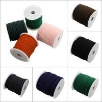 Seiltuchschnur, Stoff, mit Kunststoffspule, keine, 7x4.5mm, 20m/Spule, verkauft von Spule