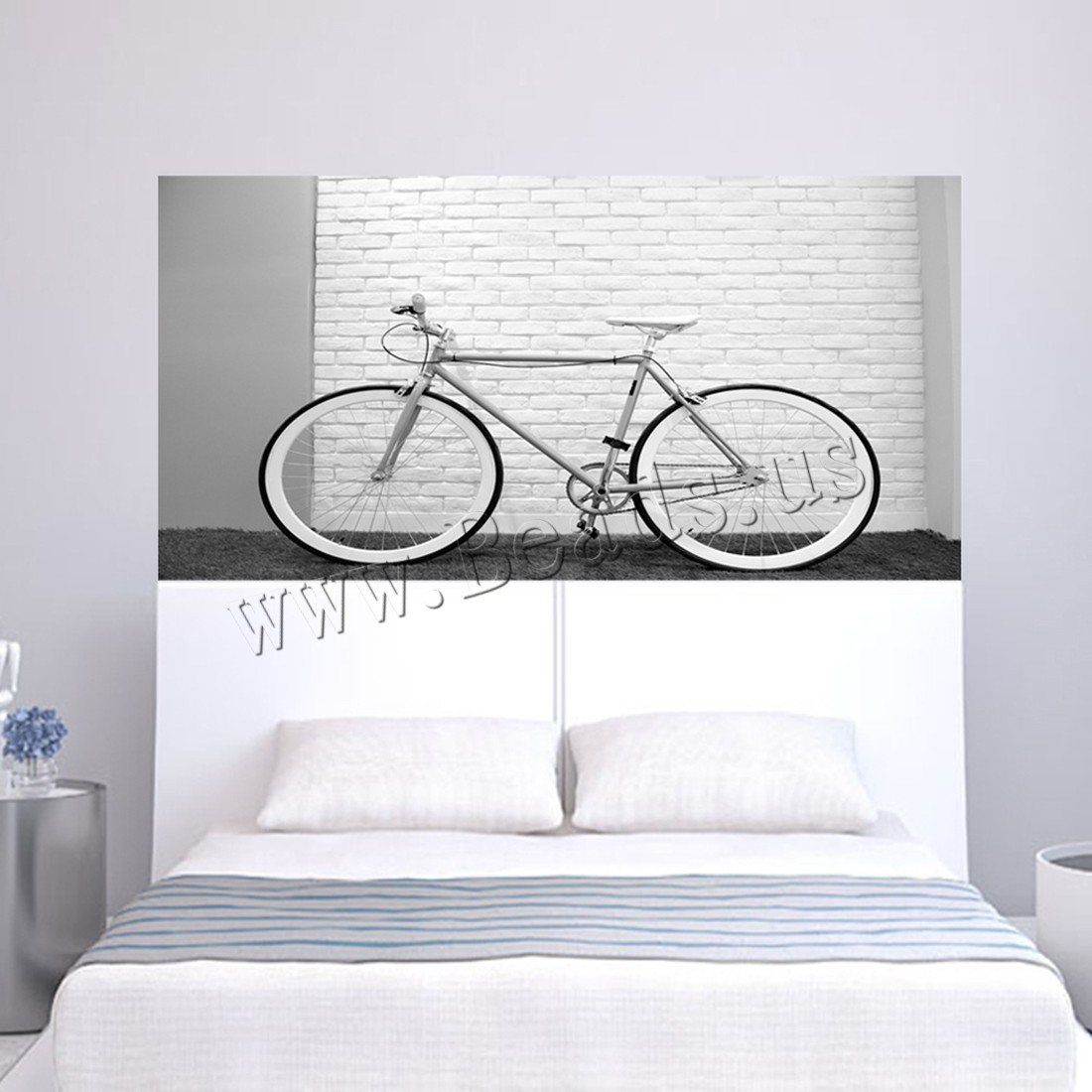 Buy 3D Wall Stickers PVC Plastic Rectangle adhesive & waterproof 450x1800mm Sold Set