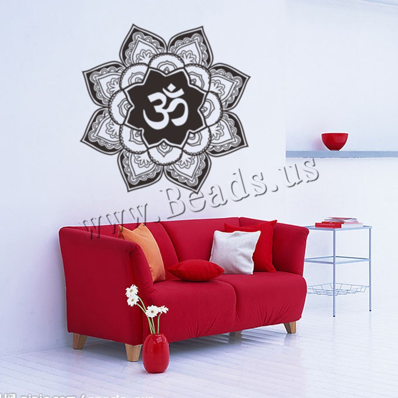 Buy Wall Stickers & Decals PVC Plastic Flower adhesive & waterproof 570x570mm Sold Set