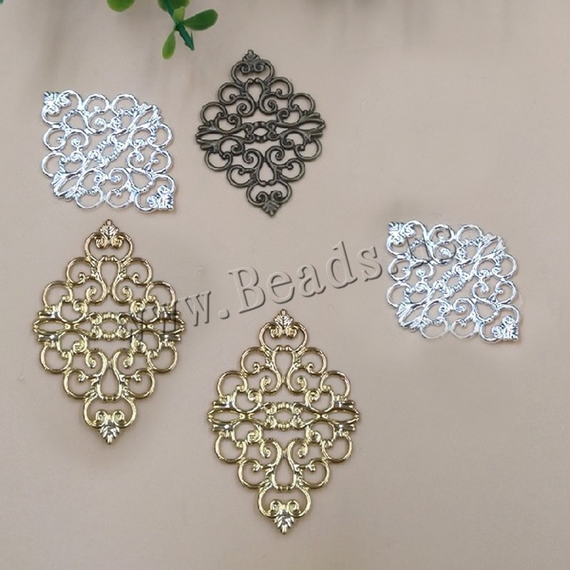 Buy Brass Cabochon Settings plated colors choice nickel lead & cadmium free 42x30mm 100PCs/Bag Sold Bag