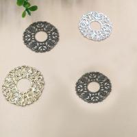 Messing Cabochon Einstellungen, Kreisring, plattiert, keine, frei von Nickel, Blei & Kadmium, 32mm, 100PCs/Tasche, verkauft von Tasche