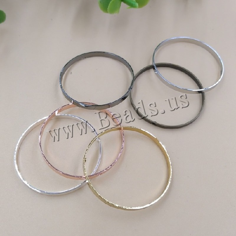 Buy Brass Pendant Findings Donut plated colors choice nickel lead & cadmium free 25x2mm Hole:Approx 1.5mm 100PCs/Bag Sold Bag