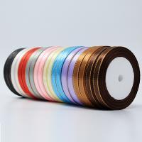 Mode Schnur Schmuck, Satinband, keine, 10mm, 10PCs/Tasche, ca. 20m/PC, verkauft von Tasche