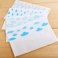 Pergamentpapier Umschlag, gemischte Farben, 127x177mm, 10PCs/PC, verkauft von PC