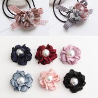 Stoff Haar Accessories DIY Zubehöre, Blume, keine, 40mm, 20PCs/Tasche, verkauft von Tasche