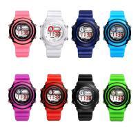 MINGRUI® Uhr, Kunststoff, mit Glas & Edelstahl, plattiert, für Kinder & LED, keine, 39x13mm, Länge:ca. 7.8 ZollInch, verkauft von PC