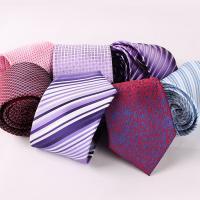 Krawatten, Polyester, Pfeilspitze, Jacquard, verschiedene Muster für Wahl & für den Menschen, 70x1450mm, 35mm, verkauft von Strang