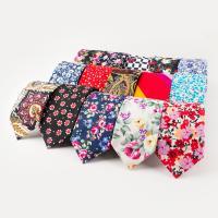 Krawatten, Baumwolle, Pfeilspitze, Kunstdruck, verschiedene Muster für Wahl & mit Blumenmuster & für den Menschen, 65x1450mm, verkauft von Strang