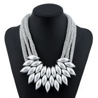 Verkupfter Kunststoff Halsketten, Verkupferter Kunststoff, mit Verlängerungskettchen von 7cm, für Frau, keine, 60mm, verkauft per ca. 19.5 ZollInch Strang