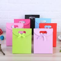 Geschenk Geschenkpapier, Papier, mit Satinband, Rechteck, verschiedene Größen vorhanden & mit Dekoration von Bandschleife, keine, 10PCs/Menge, verkauft von Menge