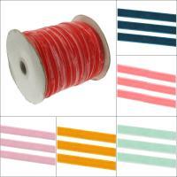 Beflockung Stoffband Schnur, mit Papier, verschiedene Größen vorhanden, keine, verkauft von Spule