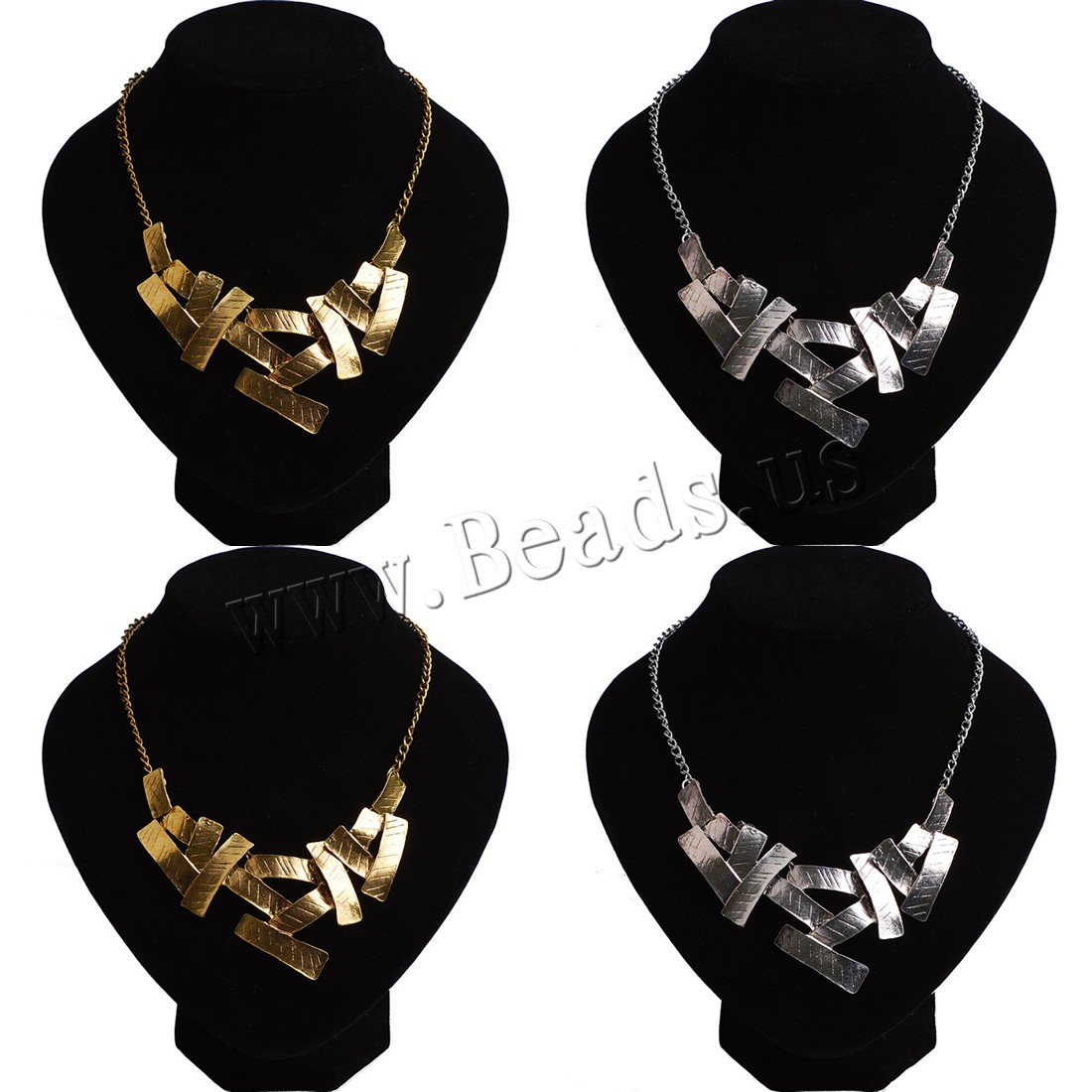 Buy Zinc Alloy Jewelry Necklace 2inch extender chain plated twist oval chain & woman colors choice nickel lead & cadmium free Sold Per Approx 17.7 Inch Strand