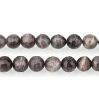Labradorit Perlen, rund, natürliche & verschiedene Größen vorhanden & facettierte, Bohrung:ca. 1mm, verkauft per ca. 15.5 ZollInch Strang