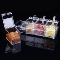 Polystyrol Küche Behälter, mit TPE, 258x90x72mm, 2SetsSatz/Menge, 4PCs/setzen, verkauft von Menge