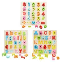 Lernen \u0026 Lernspielzeug, Holz, Einbrennlack, für Kinder & verschiedene Stile für Wahl, frei von Nickel, Blei & Kadmium, 296x296mm, verkauft von PC