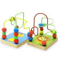 Lernen \u0026 Lernspielzeug, Holz, mit Weich-PVC & Eisen, Einbrennlack, für Kinder & verschiedene Muster für Wahl, frei von Nickel, Blei & Kadmium, 100x81x117mm, verkauft von Box