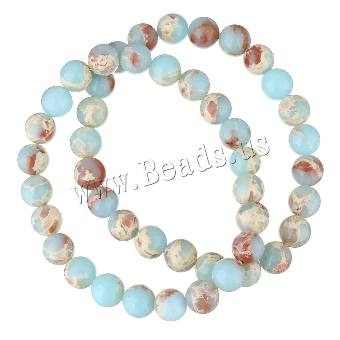Buy Shoushan Stone Bracelet Unisex 8mm Sold Per Approx 7.5 Inch Strand