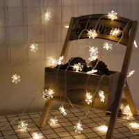 Kunststoff LED-Weihnachtslicht, Schneeflocke, verschiedene Größen vorhanden, keine, verkauft von PC