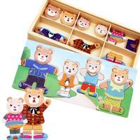 Lernen \u0026 Lernspielzeug, Holz, Einbrennlack, für Kinder, frei von Nickel, Blei & Kadmium, 300x138x40mm, verkauft von Box
